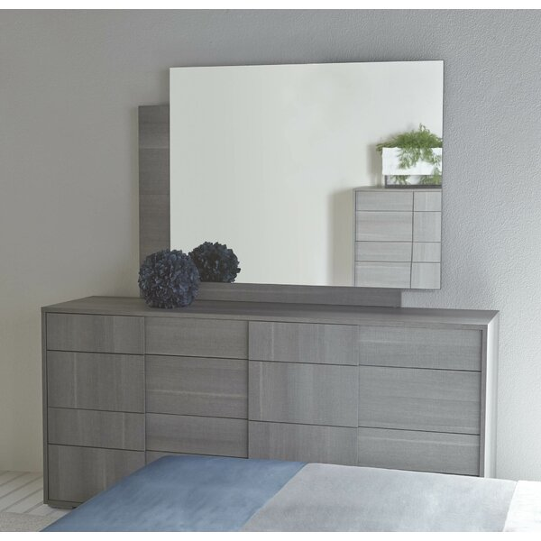 Salerno 8 Drawer Double Dresser with Mirror by Brayden Studio