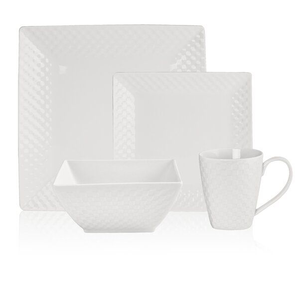 Busch Basketweave 32 Piece Dinnerware Set, Service for 8 by Orren Ellis
