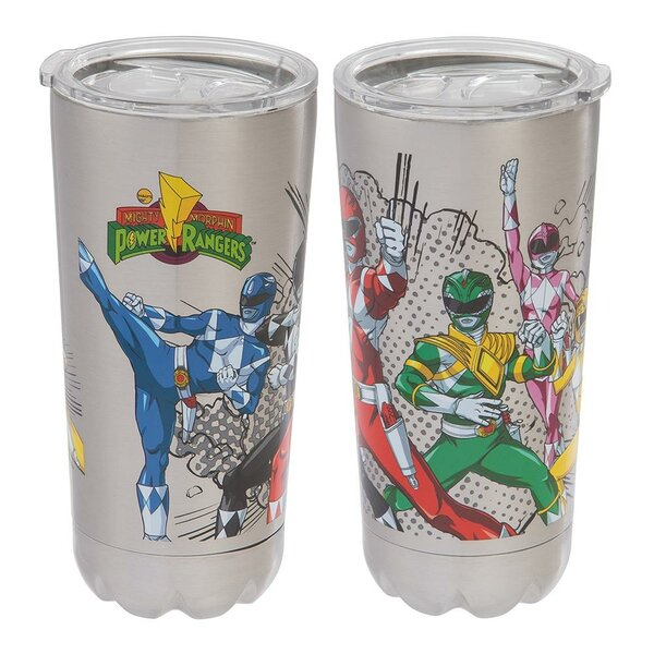 Power Rangers 20 oz. Stainless Steel Travel Tumbler by Vandor LLC