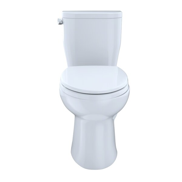 Entrada 1.28 GPF Elongated Two-Piece Toilet by Toto