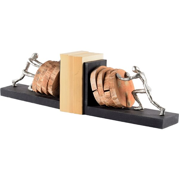 Bookends (Set of 2) by Union Rustic