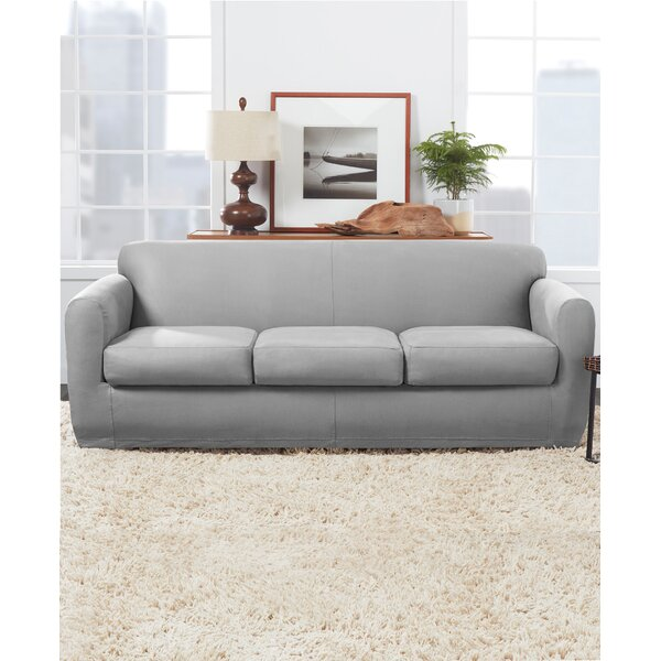 Ultimate Stretch Box Cushion Sofa Slipcover By Sure Fit