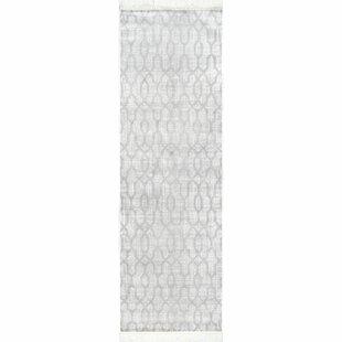 Daniella Silver Area Rug by Wrought Studio