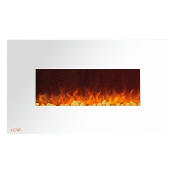 Royal Wall Mounted Electric Fireplace by Ignis Products