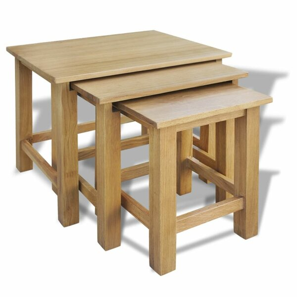 Abbot 3 Piece Nesting Tables [Charlton Home]