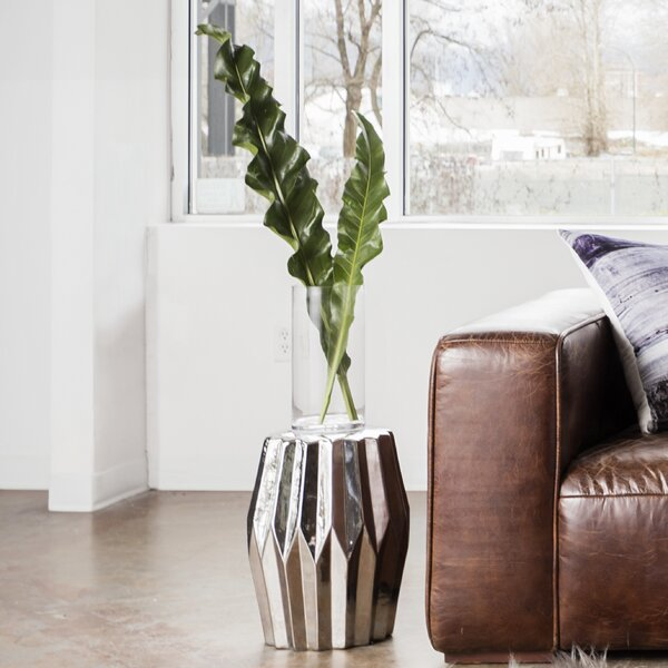 Arla Column Stool by House of Hampton
