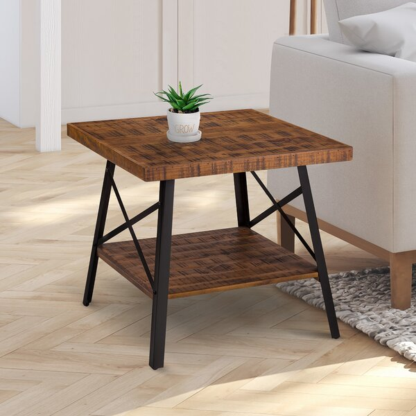 Necaise End Table by Williston Forge