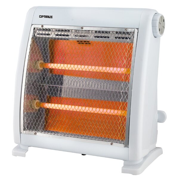 800 Watt Electric Infrared Compact Heater By Optimus