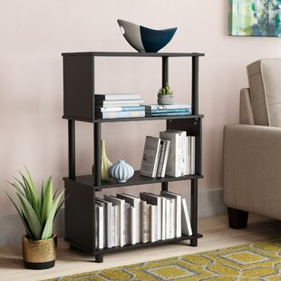 Desirae Geometric Bookcase