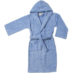 viola premium longstaple combed cotton kids hooded bathrobe - Terry Cloth Robe