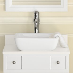 Find Ceramic Square Vessel Bathroom Sink By Ronbow