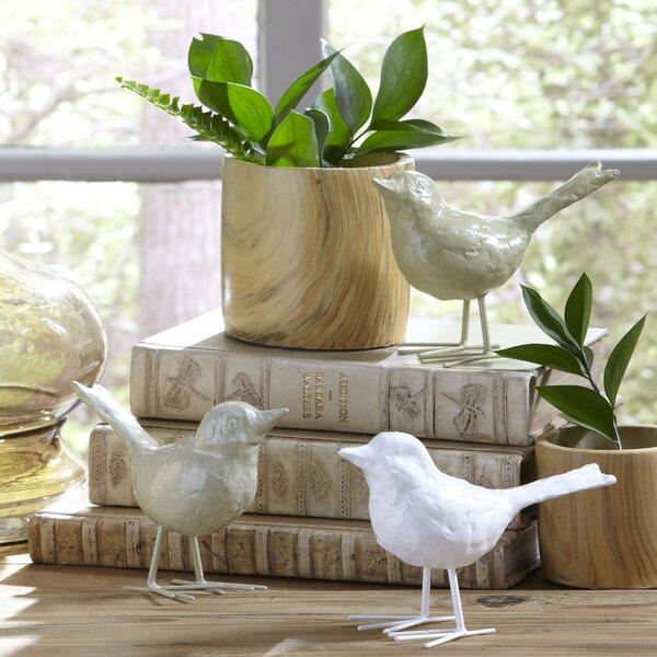 Flock Bird Decor 3 Piece Fingurine Set by Birch Lane™