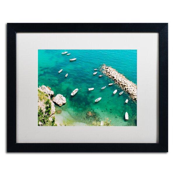 Italian Docks by Ariane Moshayedi Framed Photographic Print by Trademark Fine Art