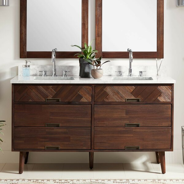 Danenburg 61 Double Bathroom Vanity Set