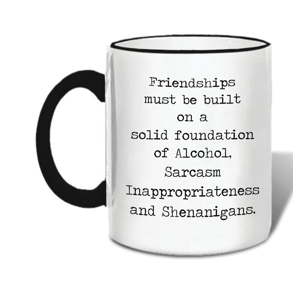 Donnington Friendships Ceramic Mug by Latitude Run