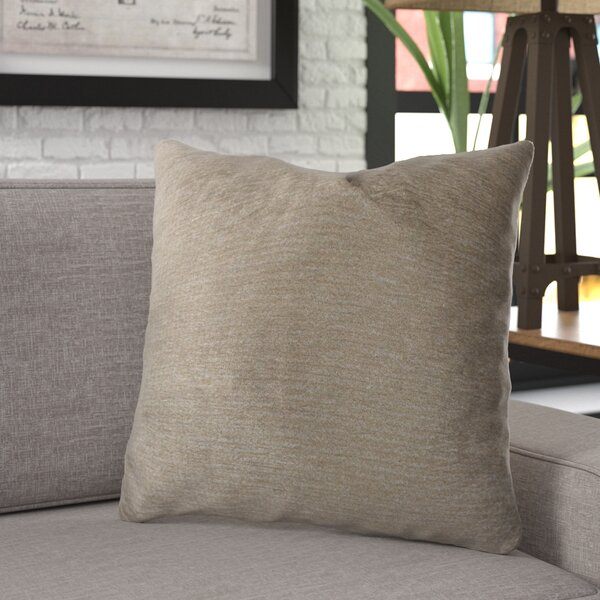 Ledger Luxury Cotton Throw Pillow by 17 Stories