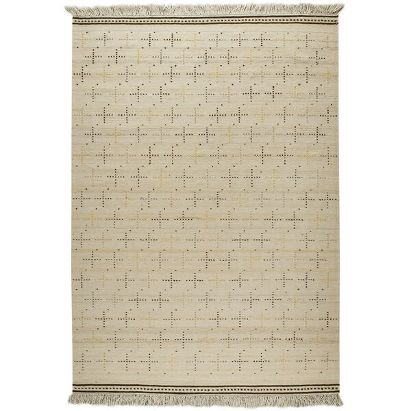 Bergen Hand-Woven Beige Area Rug by M.A. Trading