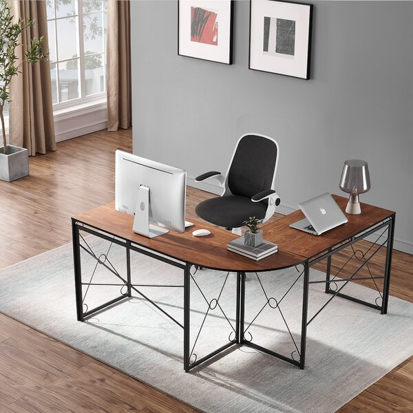 L-Shape Writing Gaming Desk and Chair Set