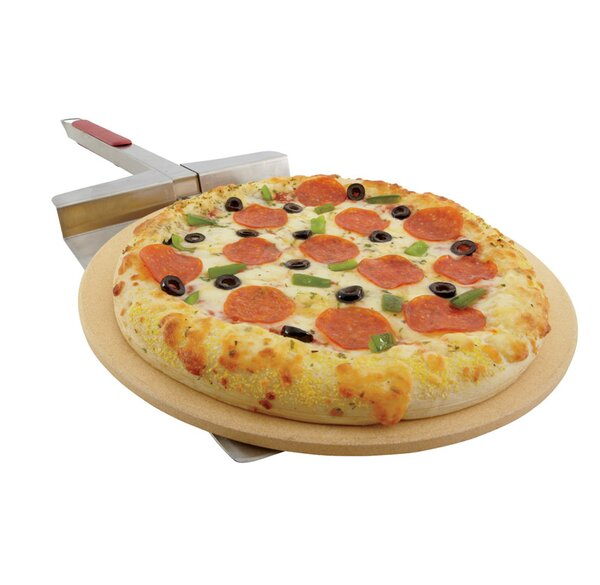 16.25 Pizza Grilling Stone by Grill Mark