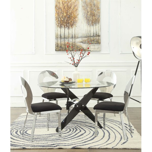 Hartzler 5 Piece Dining Table Set by Orren Ellis
