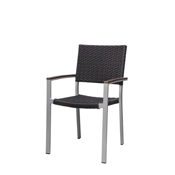 Fiji Stacking Patio Dining Chair by Source Contract Source Contract