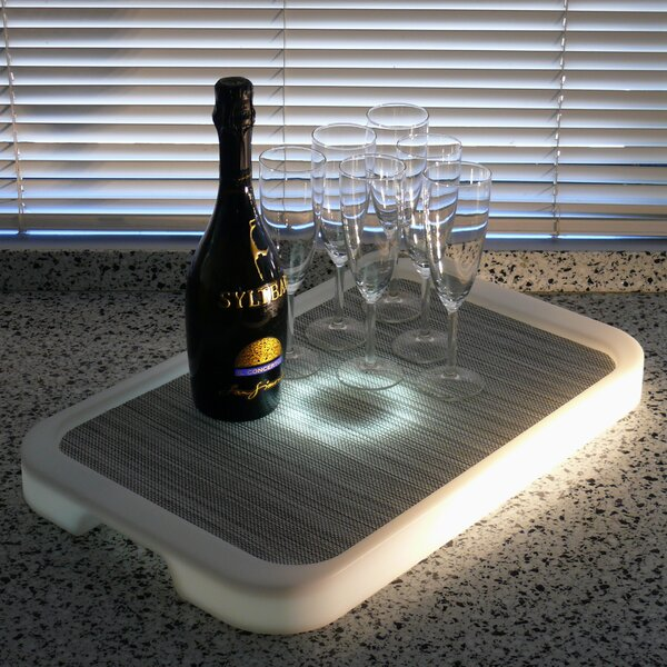 Imagilights LED Tron Rectangular Serving Tray by Infinita Corporation
