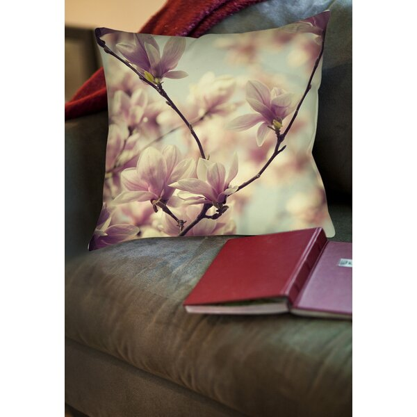 Songs without Words Printed Throw Pillow by Manual Woodworkers & Weavers