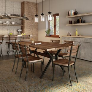 Darcelle 5 Piece Industrial Dining Set By 17 Stories