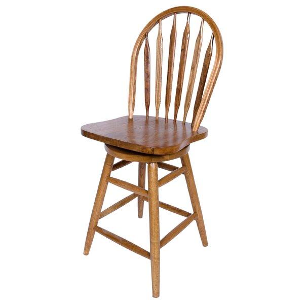 24 Swivel Bar Stool by AW Furniture