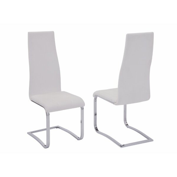 Frahm Upholstered Dining Chair (Set of 4) by Orren Ellis