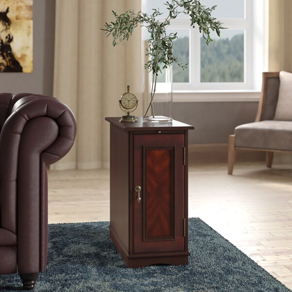 Jendring End Table With Storage by Darby Home Co Darby Home Co