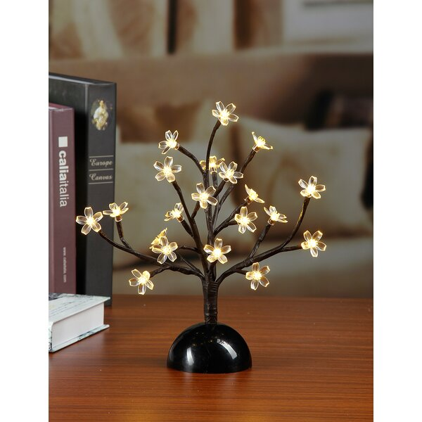 Warm LED 20 Light Cherry Blossom Bonsai by Lightshare