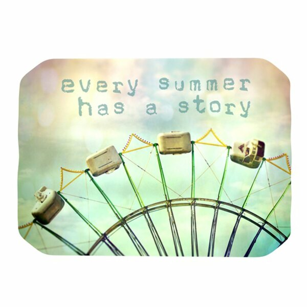 Every Summer Has a Story Placemat by KESS InHouse