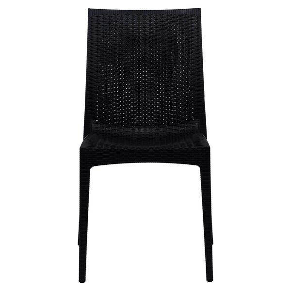 Quade Stacking Patio Dining Chair (Set of 4) by Winston Porter