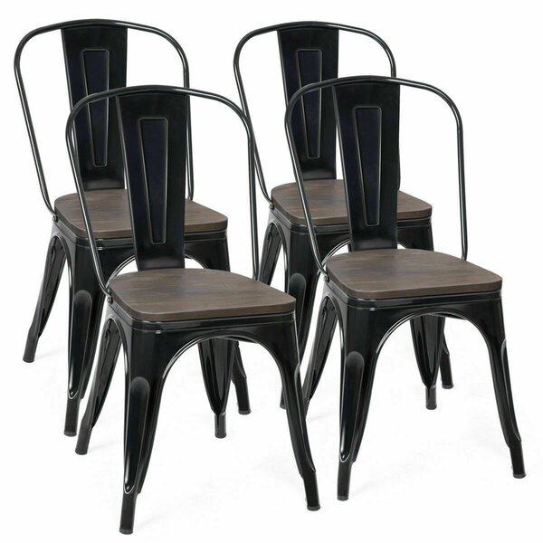 Zackary Bistro Dining Chair (Set of 4) by 17 Stories