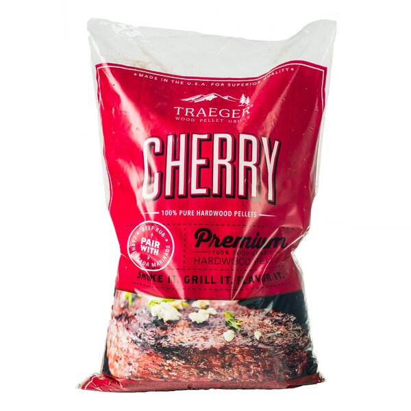 Traeger Cherry Hardwood Pellets by Traeger Wood-Fi