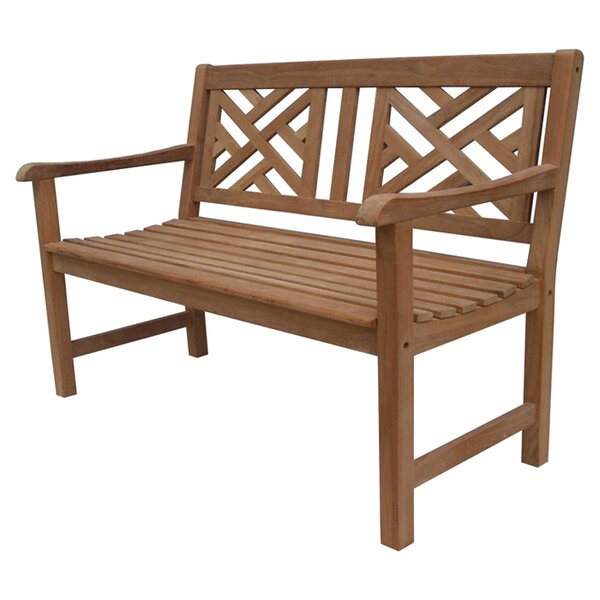 Daley Teak Garden Bench by Fullrich Industries