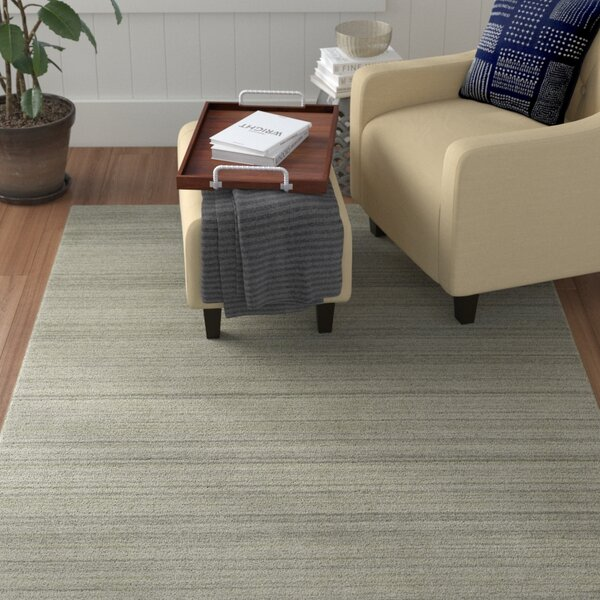 McCabe Hand-Loomed Ivory Area Rug by Red Barrel Studio