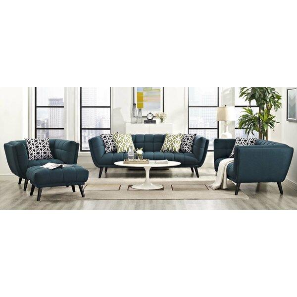 Seneca 3 Piece Living Room Set by Brayden Studio