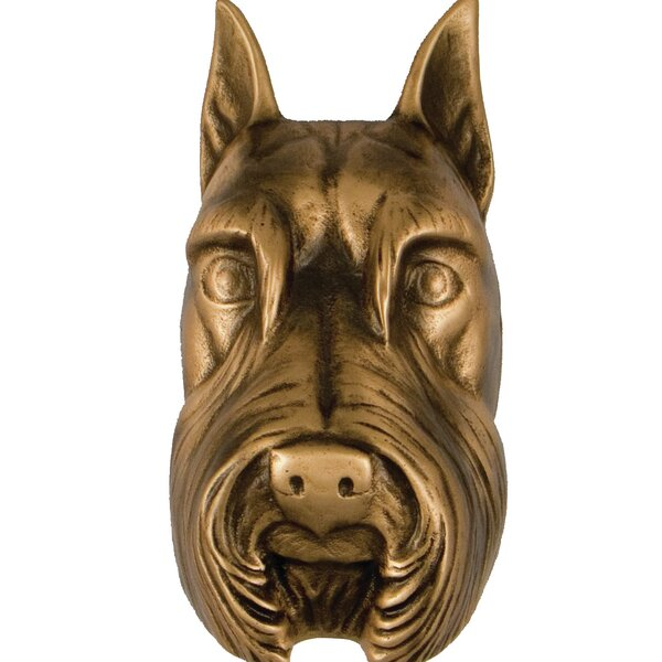 Schnauzer Door Knocker by Michael Healy Designs