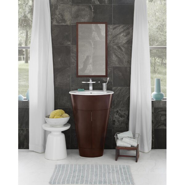 Leonie 23 Single Bathroom Vanity with Mirror by Ronbow