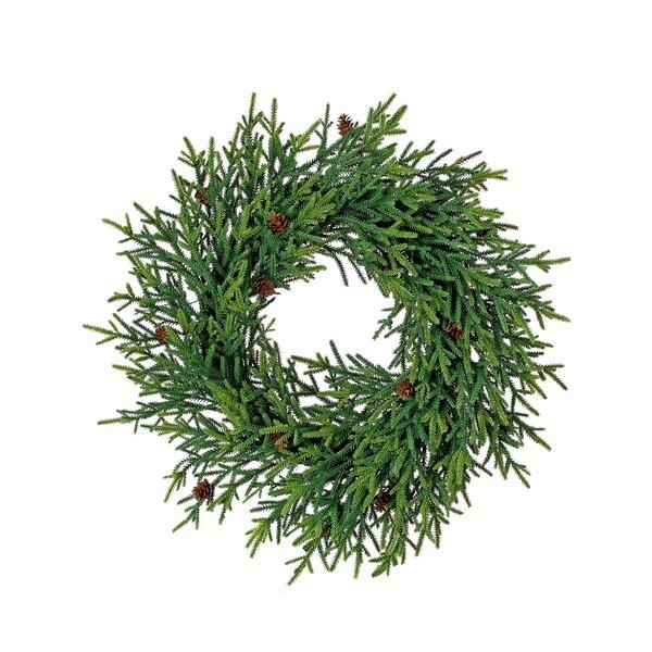Plastic 20 Mini Fir Wreath by The Holiday Aisle