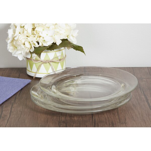 Wayfair Basics 11 Glass Dinner Plate (Set of 6) by Wayfair Basics™