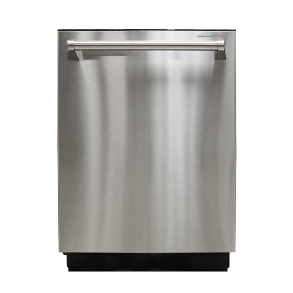 Brama 24'' 44 dBA Built-in Dishwasher by Vinotemp