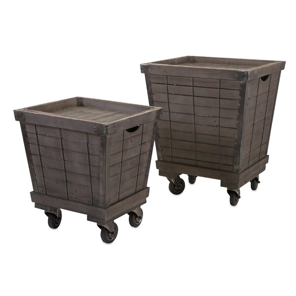 2 Piece End Tables Set by August Grove