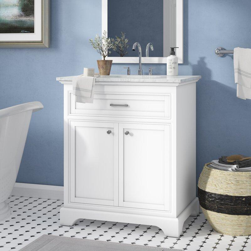 Andover Mills Rossi 30 Single Bathroom Vanity Set Reviews Wayfair