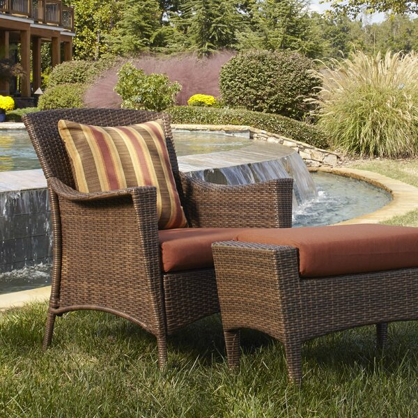 Key Biscayne Patio Chair with Cushions by Panama Jack Outdoor