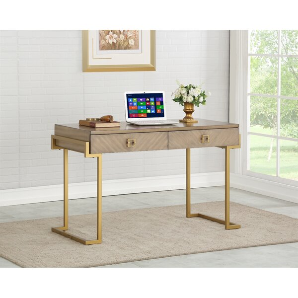 Laivai 2 Drawer Writing Desk by Mercer41