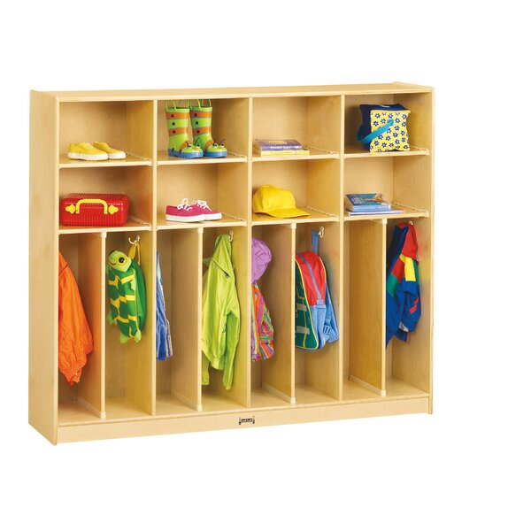 3 Tier 4 Wide Coat Locker by Jonti-Craft
