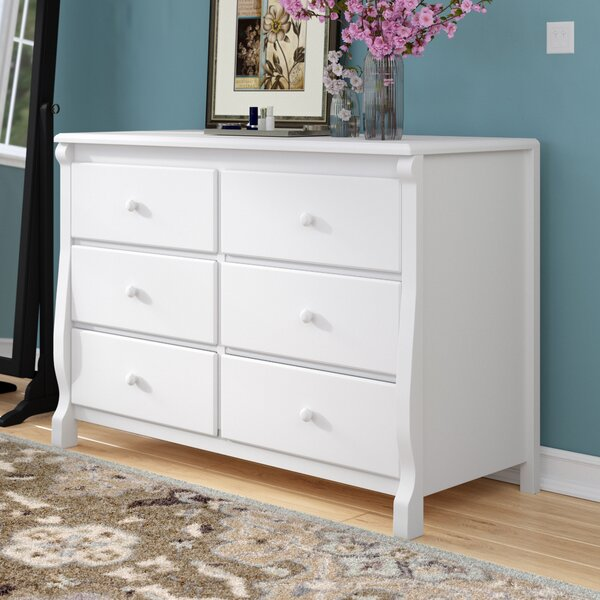 #1 Darlene 6 Drawer Double Dresser By Mack & Milo Read Reviews